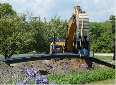 HDPE Pipe install