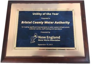 BCWA Honored by the New England Water Works Association